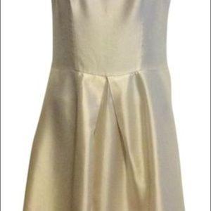 Cynthia Rowley Dresses - Cynthia Rowley Ivory Silk Cocktail Dress